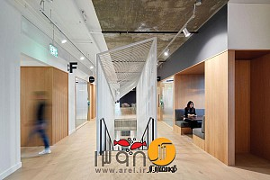 طراحی داخلی شرکت پینترست : ساده، صریح، قابل درک و فضایی برای خلاقیت