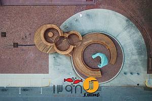 طراحی میدان یادبود : پروژه ای از لمینت های چوب سخت
