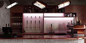 طراحی مدرن و لاکچری رستوران  Buha I rest