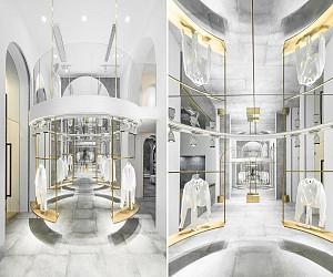 معماری داخلی فروشگاه مد و شوروم لباس