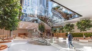 دنیایی از نور و خلاقیت در طراحی فروشگاه اپل