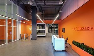 طراحی داخلی پارک فناوری اطلاعات در اوکراین
