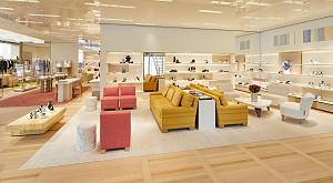 معماری و طراحی لوکس مرکز خرید louis  vuitton که شمارا  به وجد می آورد
