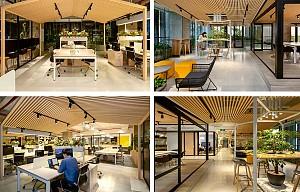 طراحی داخلی دفترکار مد و فشن