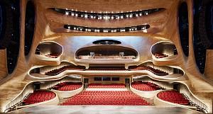 14 سالن کنسرت بی نظیر : یک هماهنگی کامل بین زیبایی شناسی و سیستم آکوستیک