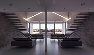 طراحی معماری ویلا پایدار با متراژ 200 متر