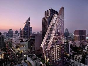 طراحی هتل بزرگ بانکوک در ادامه بلندمرتبه سازی اصولی شهر