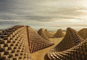 رشد استفاده از مصالح بوم آورد و ارگانیک در معماری ساختمان