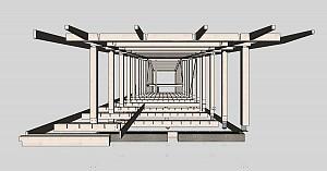 انواع اتصالات پنهان در سازه های چوبی