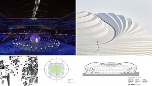 طراحی و معماری استادیوم Al Janoub توسط گروه معماری زاها حدید