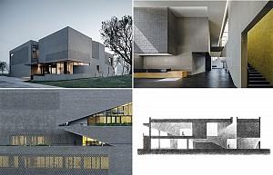 طراحی و اجرای پروژه کتابخانه آرشیوی چین توسط گروه معماری استودیو Link-Arc