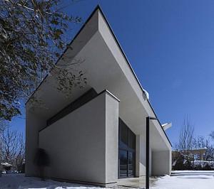 طراحی معماری ویلا چمن / استودیو فضای خاص