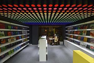 طراحی فروشگاه کتاب عرفان، لبخند را به شما هدیه می دهد!