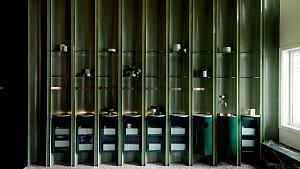 مرکز زیبایی Fig ونکوور با دیوارهای سبز