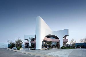 طراحی کافه رستوران ساحلی با الهام از ستاره دریایی