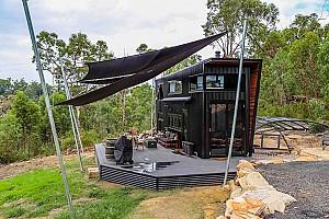 طراحی این خانه کوچک و فوق العاده مدرن شما را شگفت زده می کند