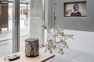 طراحی داخلی فروشگاه موقت، تجهیزات صوتی بنگ و اولوفسن
