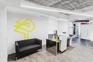 طراحی فضای داخل دفتر کار : مسکو