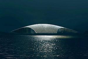 طراحی سازه ی الهام گرفته از نهنگ در کناره اقیانوس
