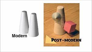 مقایسه سبک های مدرن و پست مدرن در معماری- قسمت دوم