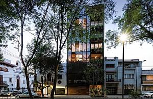 طراحی نمای  شیشه ای ساختمان اداری