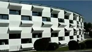 نمایی شگفت انگیز و متحرک از یک ساختمان!