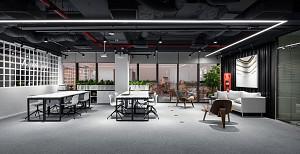 طراحی داخلی اداری شرکت سرمایه گذاری استارتاپی Amethyst