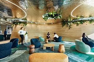 طراحی داخلی دفترکار جدید مایکروسافت در سیدنی