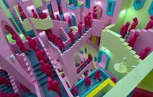معماری و طراحی صحنه سریال بازی مرکب( Squid Game )