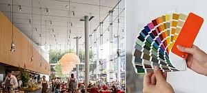 روانشناسی تاثیر رنگ ها بر اشتها در طراحی داخلی رستوران