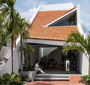 طراحی و ساخت خانه ای معاصر در بافت روستایی