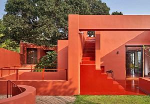 معماری و طراحی  داخلی خانه Laal Kothi – گروه معماری MSS