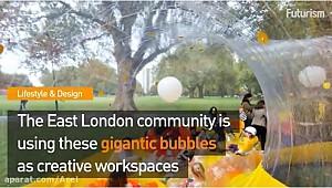 زندگی حبابی، معماری آینده جهان