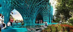پاویون ایران  در نمایشگاه اکسپو 2015 میلان