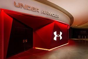 طراحی گالری Under Armour