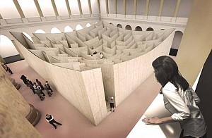 هزارتویی در موزه ملی آمریکا - گروه بیگ