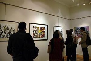 نمایشگاه نقاشی یک معمار