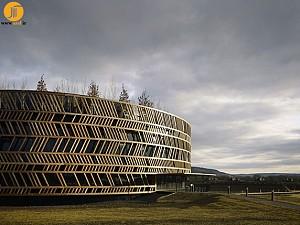 معماری تلفیقی(موزه + پارک)