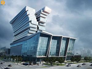 طراحی هتل مفهومی عظیم گوانژو