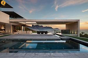 طراحی و معماری ویلای کیپ تاون آفریقای جنوبی