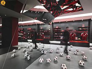 ساختمان جدید باشگاه میلان