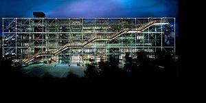 کلاسیک های معماری :  مرکز ژرژ پمپیدو اثر رنزو پیانو و ریچارد راجرز