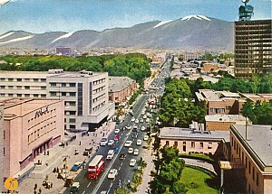 گذری بر خیابان یک طرفه تهران