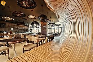 طراحی کافه به سبک اروپای شرقی