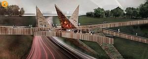 طراحی پل مفهومی Miraflores