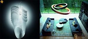 اهمیت نور در فضای داخلی: طرح لوستر به سبک مینیمال و کیهانی