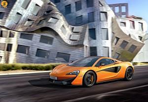 مکلارن 570s، مدل جدیدی که روانه بازار می شود.