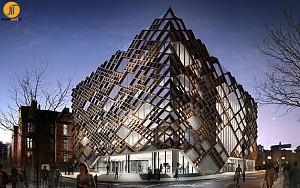 معماری و طراحی دانشکده مهندسی