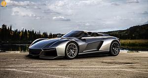 خودروی سوپراسپرت سبک وزن رضوانی موتورز