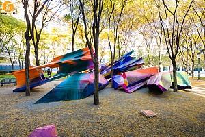 طرح مجسمه و زیبایی منظر توسط کاترینا گراس
